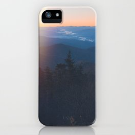 Sunrise in Smoky Mountains National Park iPhone Case