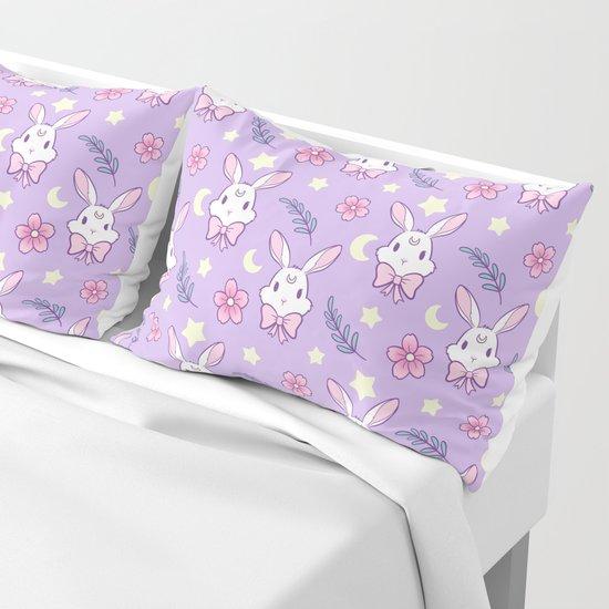 Sakura Bunny // Purple by nikury