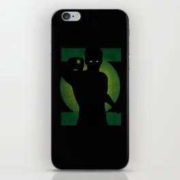 SuperHeroes Shadows : Green Lantern iPhone Skin
