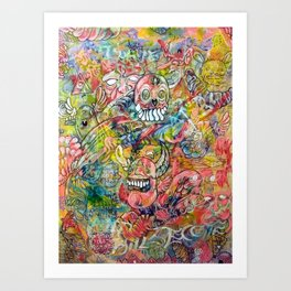 The Transubstantiation of Thought  Art Print