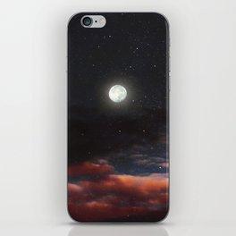 Dawn's moon iPhone Skin