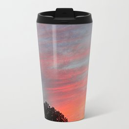 Sunset Clouds Travel Mug