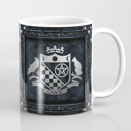 Cabot Silver Embossed Collection Coffee Mug