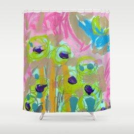 Posies Shower Curtain