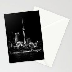 CN Tower From Bathurst Quay Toronto Canada Stationery Cards