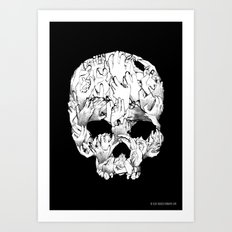 Shirt of the Dead Art Print