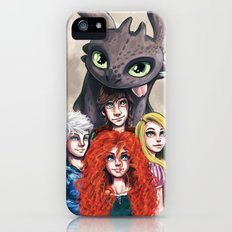 RISE OF THE BRAVE TANGLED DRAGONS Slim Case iPhone (5, 5s)