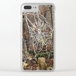 Web Clear iPhone Case