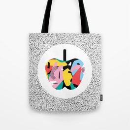 Apple Mess Tote Bag