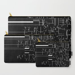 noisy pattern 04 Carry-All Pouch