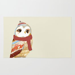 Winter Owl Rug