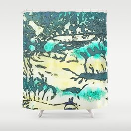 Roots & Herbage Shower Curtain
