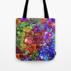 Cosmic Marbles Tote Bag