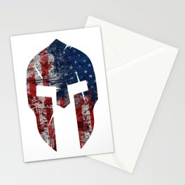 Grunt Style American Spartan Stationery Cards