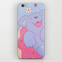 donut iPhone & iPod Skins featuring Donut by Nandi Appleby