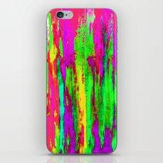 Sizzlin Purple Abstract iPhone & iPod Skin