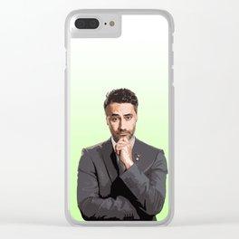 Taika Waititi 9 Clear iPhone Case