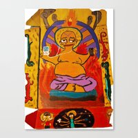simpson Canvas Prints featuring Simpson by Samantha Sager