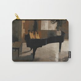 Grand Piano Artwork Carry-All Pouch