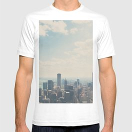 Looking down on the city ... T-shirt