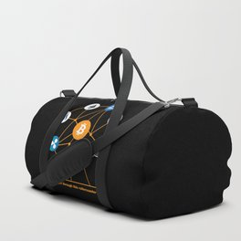 Crypto HODL Duffle Bag