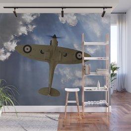 Aces High - Spitfire Vertical Climb Wall Mural