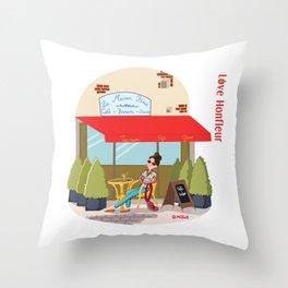 Love Honfleur Throw Pillow