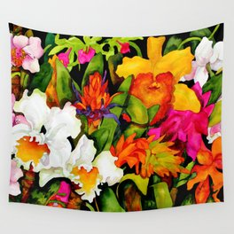Tropical Exuberance Wall Tapestry