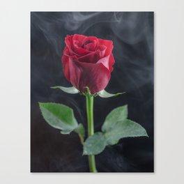 Smokin Rosie Canvas Print