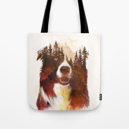 One night in the forest Tote Bag
