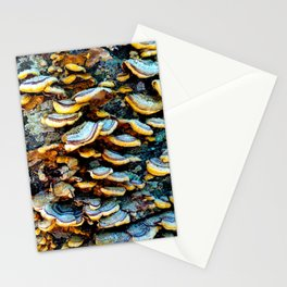 Tree Fungi Pattern Stationery Cards