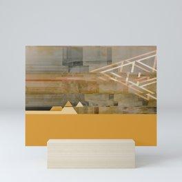 "Abstract ""Beach"" Mini Art Print"