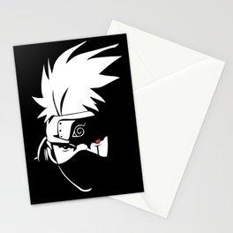 Kakashi Hatake Face - Naruto Stationery Cards