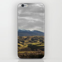Central Otago in Winter iPhone Skin