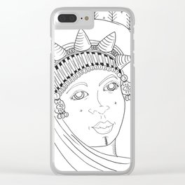 Amazigh Clear iPhone Case