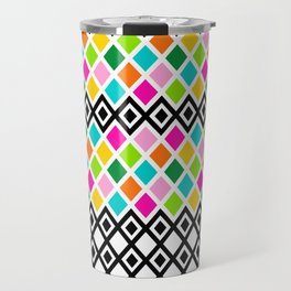 DIAMOND - White Travel Mug