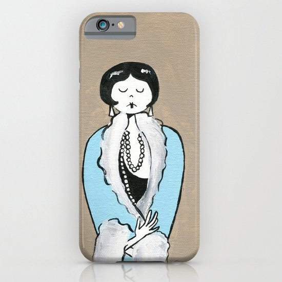 Ramona is ready for a night on the town iPhone & iPod Case