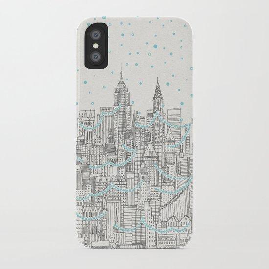Winter in New York iPhone Case