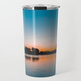 Coffee Pot Sunrise Travel Mug