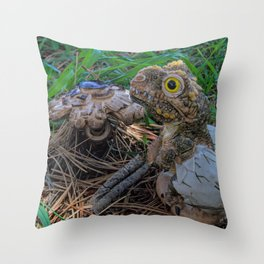 Return of the T Rex Throw Pillow