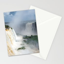 iguazu falls Stationery Cards