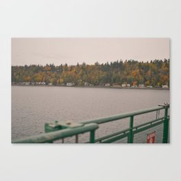 Fall in port townsend. Canvas Print