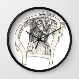 Three Sleepers - Chair Wall Clock