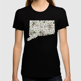 Connecticut in Flowers T-shirt
