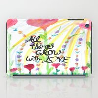 love quotes iPad Cases featuring Love Quotes by Just Creative Julia