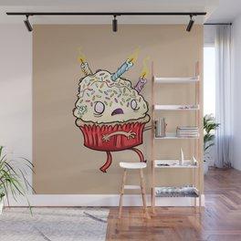 Cupcake zombie 8 Wall Mural