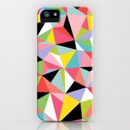 Geometric Jane iPhone Case