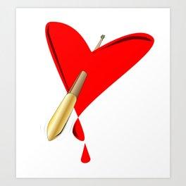 Cupids Arrow Art Print