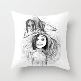 The Other Mother Throw Pillow