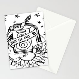 Space Bass Stationery Cards